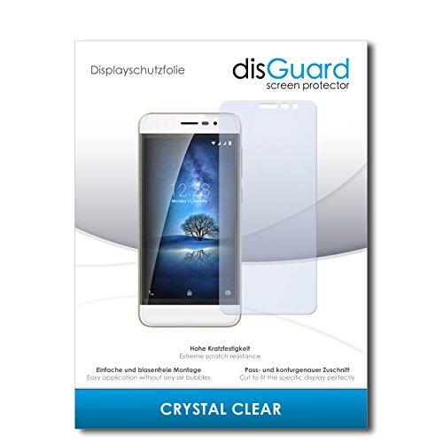 disGuard 4 x Bildschirmschutzfolie Coolpad Torino S Schutzfolie Folie CrystalClear unsichtbar