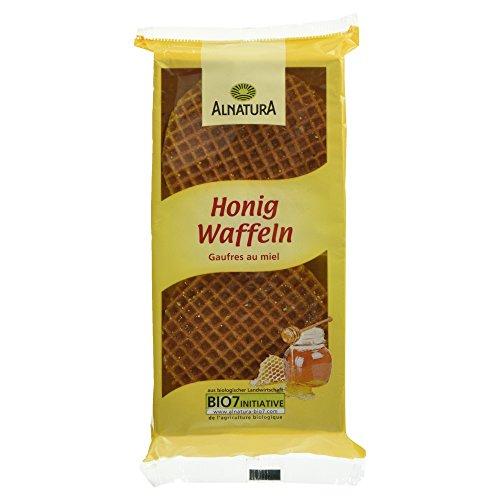 Alnatura Bio Honigwaffeln, 12er Pack (12 x 175 g)