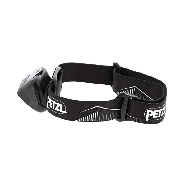 Petzl Actik Core - Linterna (Linterna con cinta para cabeza, Black, Botones, IPX4, CE, 450 lm) 1