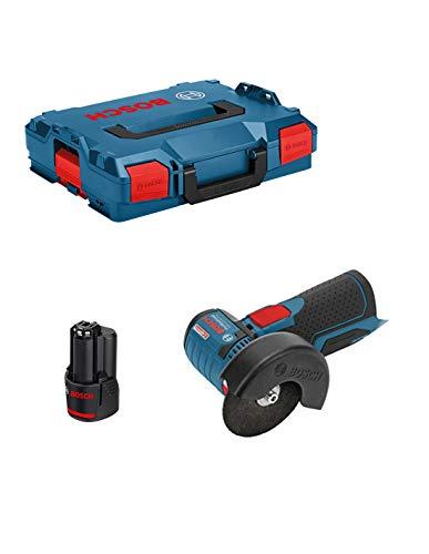 Bosch GWS 12V de 76Professional batería Amoladora de ángulo en L-Boxx + 1x GBA 6,0Ah Batería–sin cargador