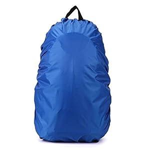 41j5MY6jqpL. SS300  - TOOGOO(R) Nueva Funda de impermeable para proteccion de mochila de excursion de viaje Accesorio de mochila, 35L Azul
