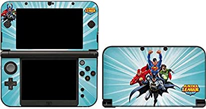 Skinit Decal Gaming Skin for 3DS XL 2015 - Officially Licensed Warner Bros Justice League Team Power Up Blue Design