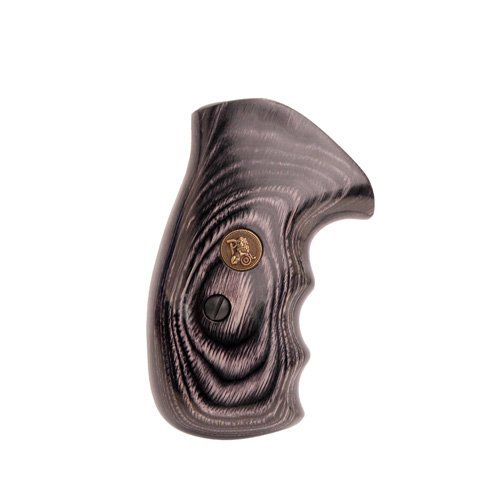 Pachmayr 63031 Renegade Wood Laminate Pistol Grips, Smith & Wesson K&L Frame, Charcoal, Smooth