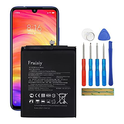 Fruisiy Batteria BN4A per MI Redmi Note7 Note 7 Pro M1901F7G M1901F7H M1901F7I M1901F7S + attrezzi