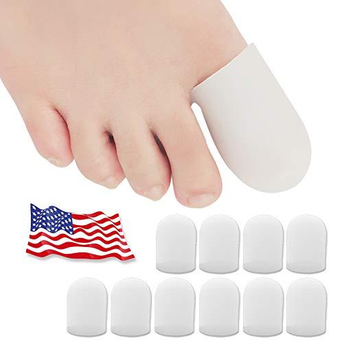 Protectores de dedos del pie, Protector Dedos Pie, Protector de dedo del pie de gel, para ampollas, maíz, uñas de los pies,...