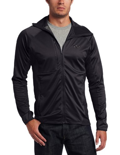 Outdoor Research Men's Centrifuge Jacket, Black, Small