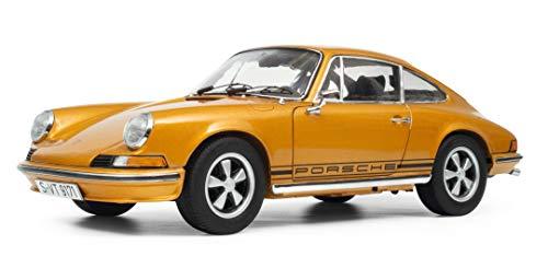 Schuco 450036100, Gold Porsche 911 S, Coupé, 1973, Modellauto, 1:18, metallic, Limitierte Auflage