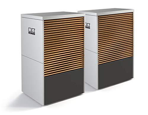 Remko Luft/Wasser Monoblock Wärmepumpe | LWM110 Duo Camura | 13-20 kW