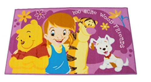 M. Service Marla Disney Alfombra Action Line Winnie The Pooh and Friends–Tamaño 80x...