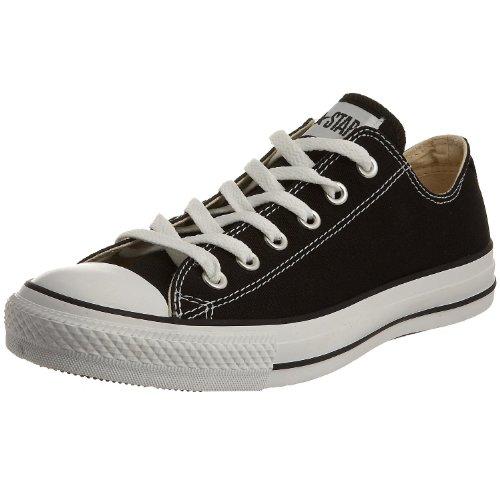 Converse Chuck Taylor All Star Ox', Zapatillas Unisex Adulto, Black White, 51.5 EU