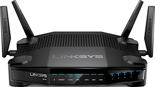 Linksys AC3200 Dual-Band WiFi Gaming Router with Killer Prioritization Engine WRT32X (Renewed)