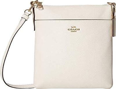 COACH Crossgrain Messenger Crossbody Chalk/Gold One Size