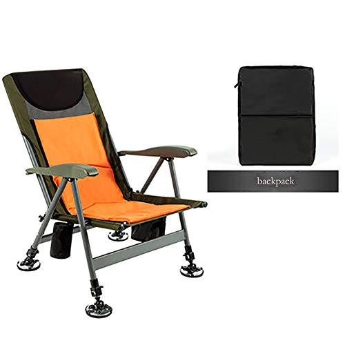 SHARESUN Multifunctionele opvouwbare strandstoel, aluminium beugel verwijderbare rugleuning verstelbare vissen ligstoel, voor outdoor camping picknick tuin kantoor, vier seizoenen beschikbaar