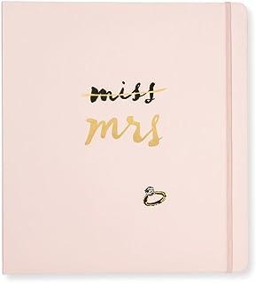 $48 » Kate Spade New York Blush Pink Bridal Wedding Planner Organizer Ring Binder, Miss to Mrs.