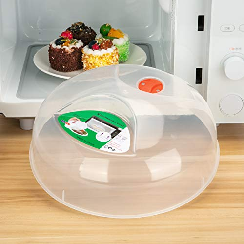 Microwave Plate Cover,Microwave cover for food 11.5 Inch BPA Free...