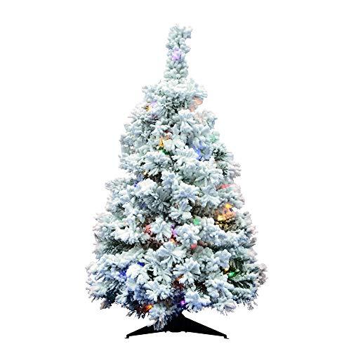Vickerman Christmas-Trees, PVC, Multi-Colored Led Lights, 36'