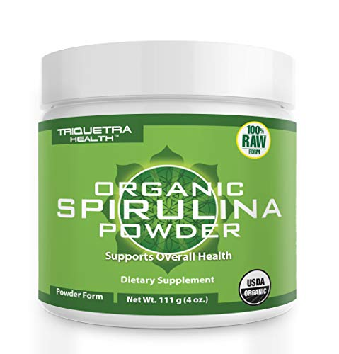 Spirulina powder supplement