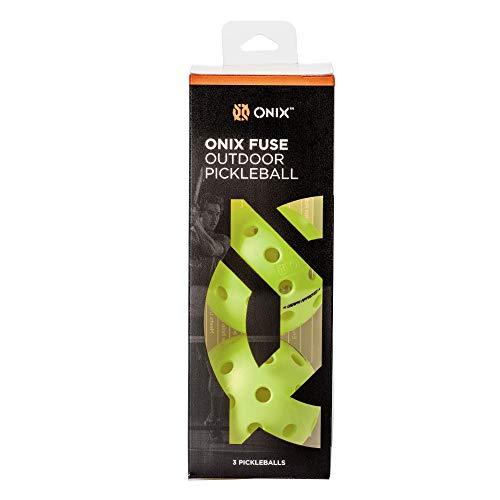 Onix Fuse G2 Outdoor Pickleball Balls
