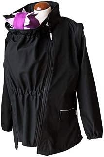 manduca by MaM 179-10-50-005 Two-Way Upgrade - Chaqueta portabebés, talla XL, interior agradable, color negro/gris claro