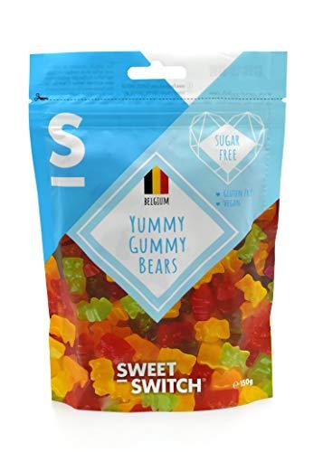 """Sweet-Switch \""""Yummy Gummy\"""" Gummibärchen mit Stevia und Maltit, 150g"""