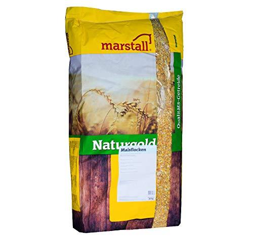 marstall Premium-Pferdefutter Maisflocken, 1er Pack (1 x 20 kilograms)