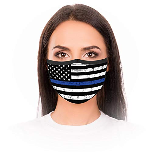 2//3//5pc Bandanas Face Protection Dust Cloth Proof Reusable Washable Mouth Elastic String Balaclava Cycling Motorcycle Black Womens Mens Fashion Colored Under Nose Eye Tape Fabric