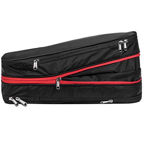 jacess Packwürfel Set mit Kompression, Packing Cubes, Packtaschen Set & Gepäck Organizer, faltbare 26 Liter große Kapazität nur 0,35 kg, wasserdichte und komprimierbare kompakte Sporttasche, für Reise