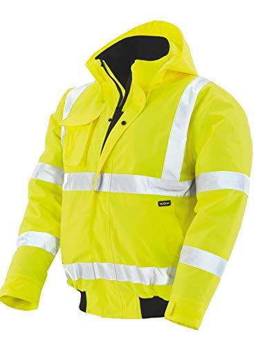 teXXor Warnschutz-Pilotenjacke Whistler wasserdichte, winddichte Arbeitsjacke, XL, gelb, 4118