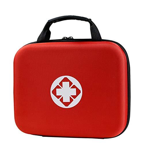 Médico Bolsa De Primeros Auxilios Portátil, Kit De Emergencia Bolsa De Almacenamiento...