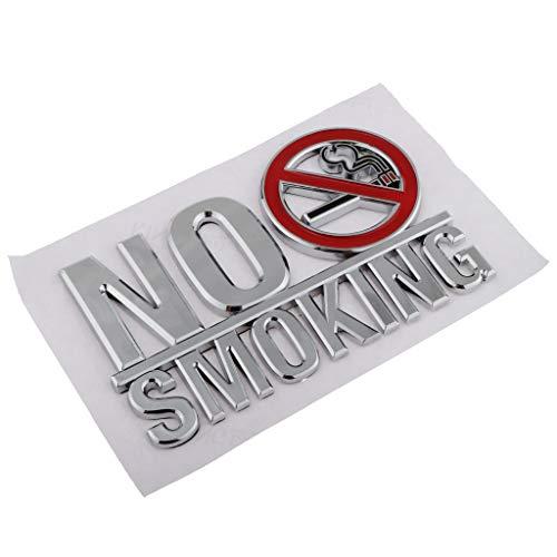 LOVIVER No Smoking Schild Aufkleber Rauchen verboten 150mm x100mm (Rauchverbot, Nichtraucher, Verbotsschild) wetterfest