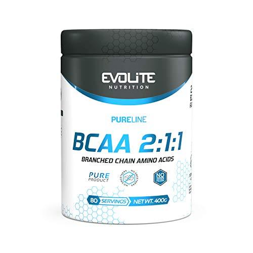 EVOLITE Nutrition BCAA Pure 400g–Vital amino acids
