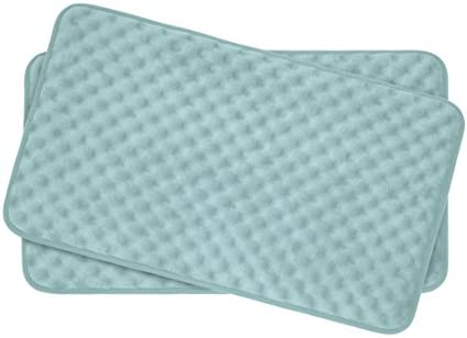 Bounce Comfort Extra Thick Memory Foam Bath Mat Set Massage Plush 2 Piece Set with BounceComfort product image