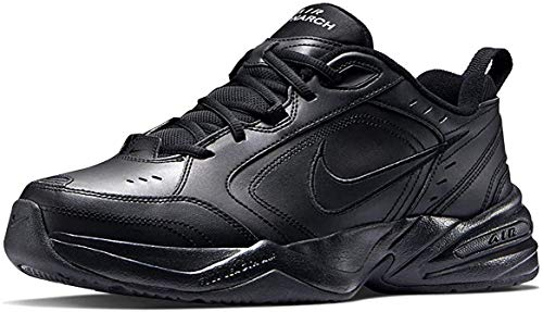 Nike Mens Air Monarch IV Training Shoe, Zapatillas de Gimnasia para Hombre, Negro (Black/Black 001), 41 EU