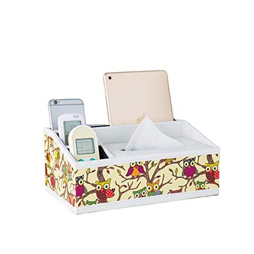 DUKKl Mode Multifunktions Tissue Box EuropäIschen Haushalt Couchtisch Fernbedienung Aufbewahrungsbox Tablett Schlafzimmer Auto BüRo