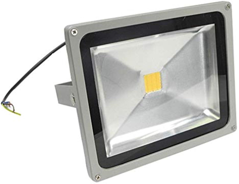 Flutlicht Halogenstrahler 10W LED FloodLight Weiß Hochleistungs-Warmwei-Gartenleuchten im Freien (watt   10W)