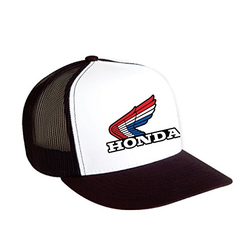 Factory Effex 18-86302 Honda Vintage Snapback Hat (Black/White, One Size)