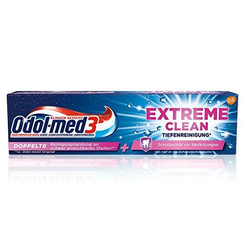 Odol-med3 Extreme Clean Tiefenreinigung Zahnpasta, 75ml