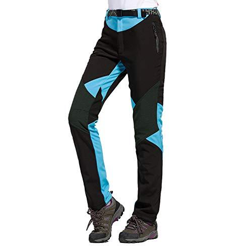 LHHMZ Mujeres Pantalones Impermeables de Senderismo Transpirable Ligero Deportes al Aire Libre...