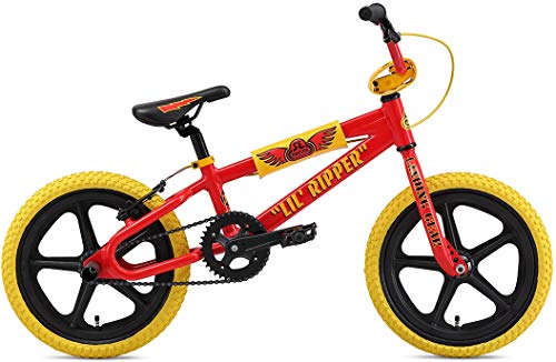 Why Choose SE Lil Ripper BMX Bike Mens Sz 16in Red