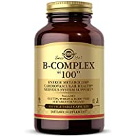 100-Count Solgar B-Complex Heart Health Nervous System Support Vegetable Capsules