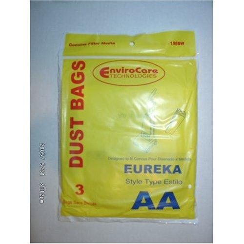 Eureka estilo AA única pared bolsas de vacío–Generic–, 3unidades