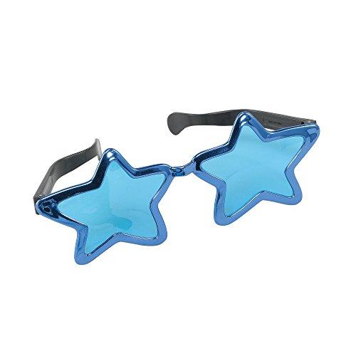 Bristol Novelty GJ339C Jumbo Stern Sonnenbrille, Bunt, Mehrfarbig, Einheitsgröße