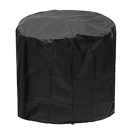 KUNSE 71x53cm Ronde vuurkuil Cover Waterdichte UV Patio Grill BBQ Outdoor Protector Cover
