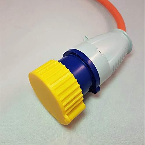 3D Cabin 16 Amp prise électrique Housse anti-poussière pour câble 110 V Outil électrique ou camping-car/caravane/camping Hookup câble : jaune