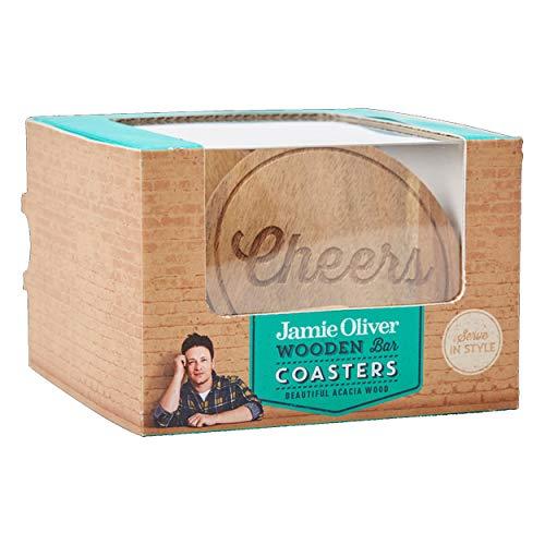 Jamie Oliver 554280 Untersetzer, Akazie