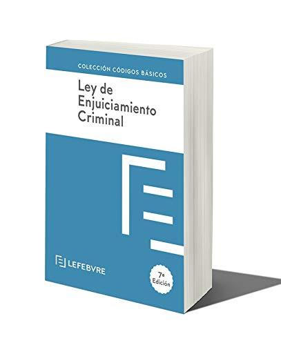 LEY DE ENJUICIAMIENTO CRIMINAL 7ª edc.: Código Básico (C