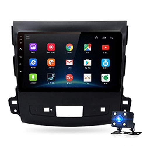 KLL Pantalla Táctil Multimedia Sistema GPS Navegador Reproductor de Radio del Coche HD 4G WiFi Bluetooth RAM 2G ROM 32G Mapas de por Vida para Mitsubishi Outlander XL 2 2005-2011 4007