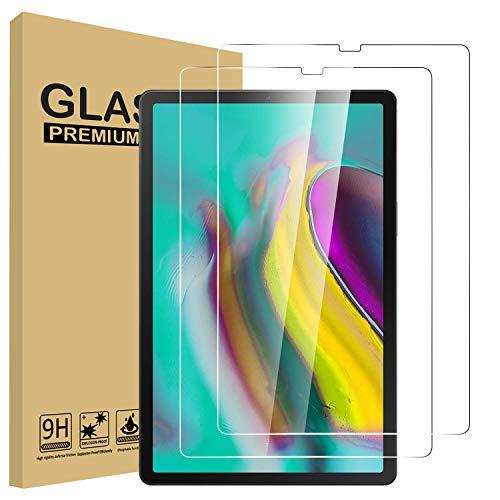 Lspcase Galaxy Tab S5e / Galaxy Tab S6 10.5 Panzerglasfolie [2 Stück] - 9H Schutzfolie HD Displayschutzfolie Tempered Glas Folie für Samsung Galaxy Tab S6 / S5e 10.5 SM-T720 SM-T725 SM-T860 SM-T865