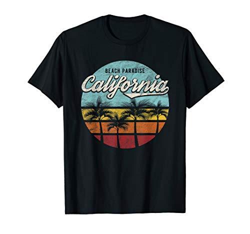 California Los Angeles Kalifornien Retro Geburtstag Geschenk T-Shirt