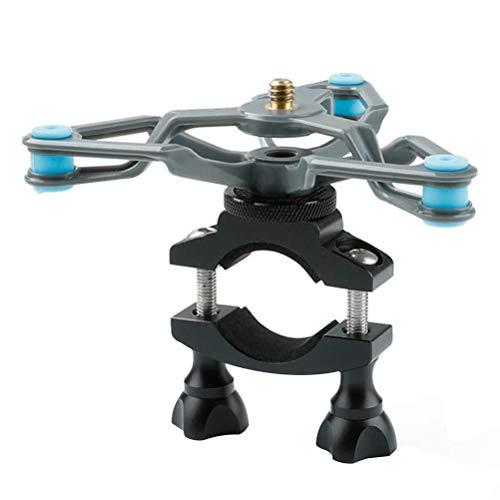 Abaodam Accesorios de cámara de soporte de absorción de bicicletas compatibles con Gopro Hero 8